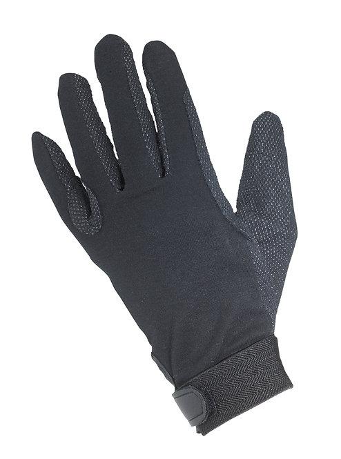 Black Cotton Pimple Glove