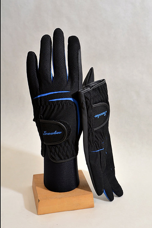 Synthetic Black Glove with Lycra Joints