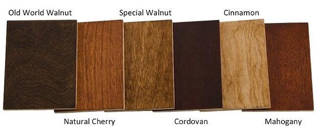 wood tack trunk colors
