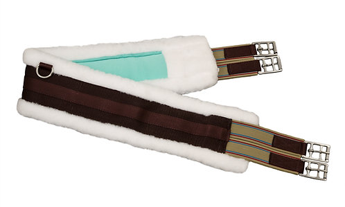 StayDry NanoSilver Brown Nylon Fleece Girth