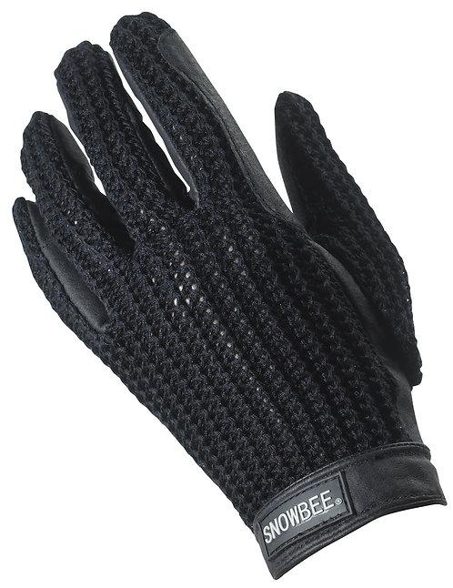 Pigskin Crotchet Riding Glove
