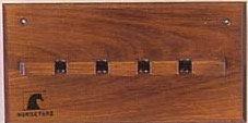Wood Whip Rack