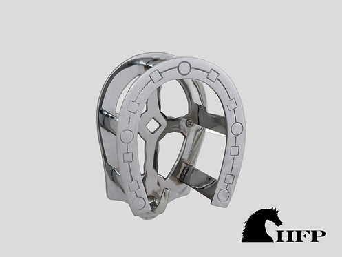 Chrome Horseshoe Bridle Bracket