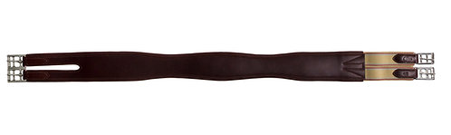 Leather Overlay Girth, Split End
