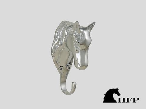 Chrome Horsehead Hook