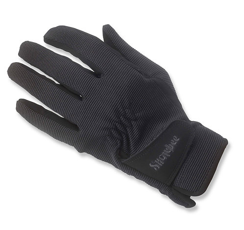 Helsinki Spandex and Faux Suede Riding Glove