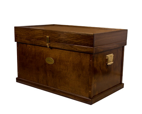 deluxe wood tack trunk