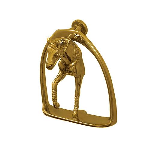 Horse Stirrup Door Knocker