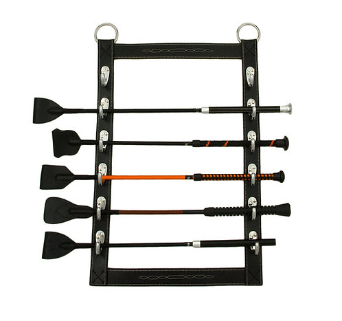 leather whip rack