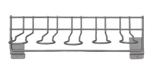 Chrome Whip Wall Rack