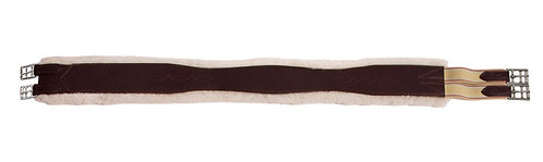 Overlay Girth w/Removable Sheepskin- Regular End