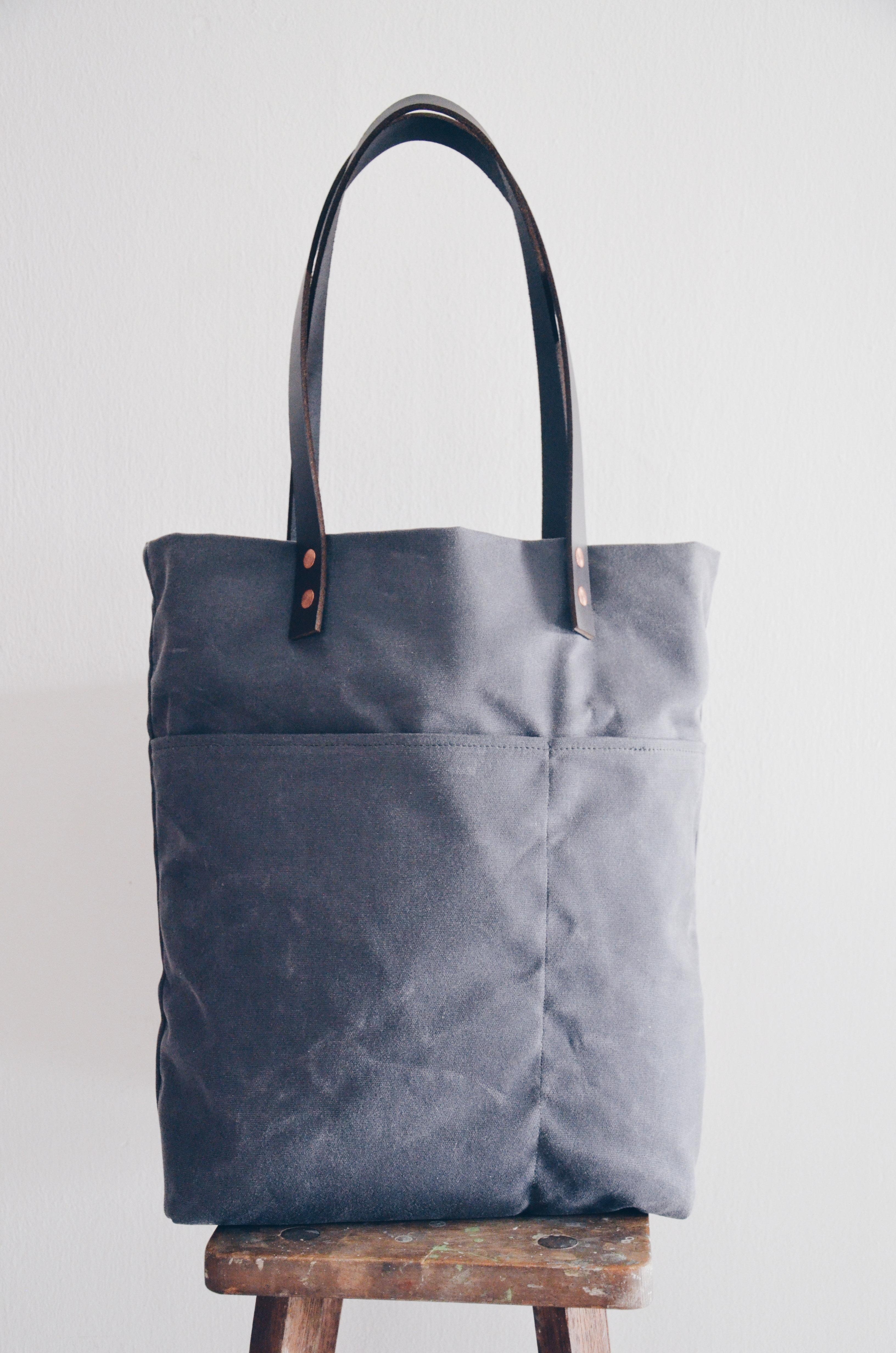 61e4e35ac7a Usa Waxed Canvas Tote Bags