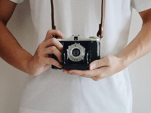 Fixed length Thin Camera Strap