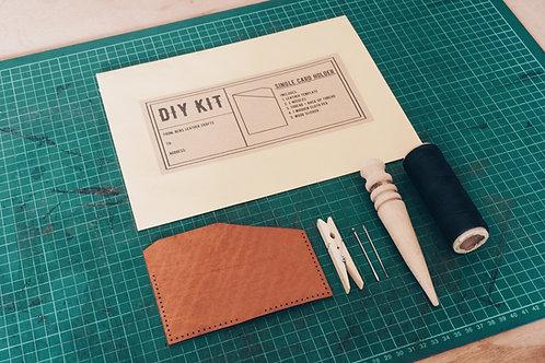 Single slot cardholder DIY kit