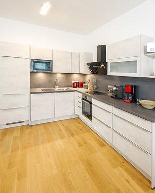 Küche - Ferienwohnung Narzisse Bad Aussee