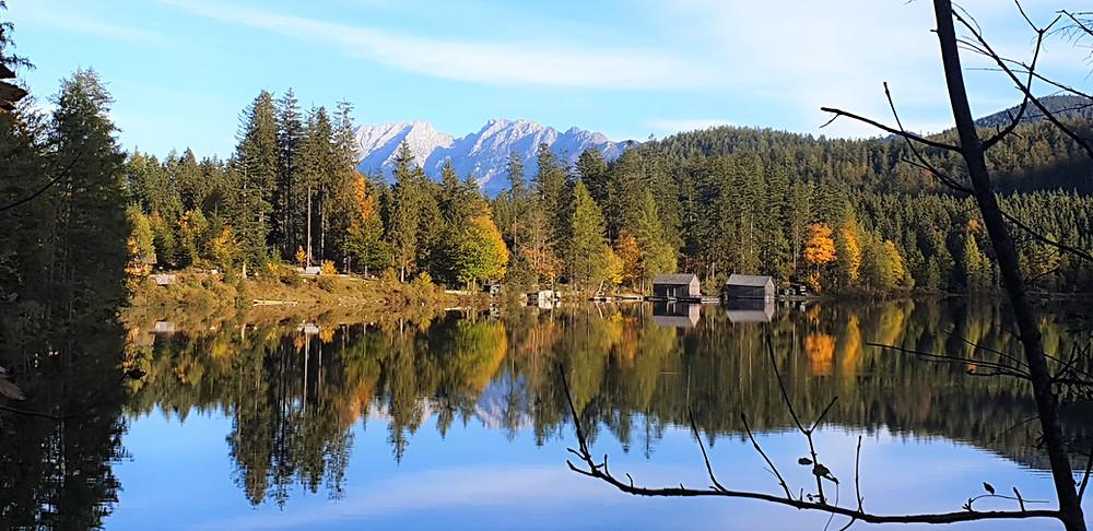 Ödensee im Herbst - Entfernung zur Ferienwohnung Narzisse: 12km