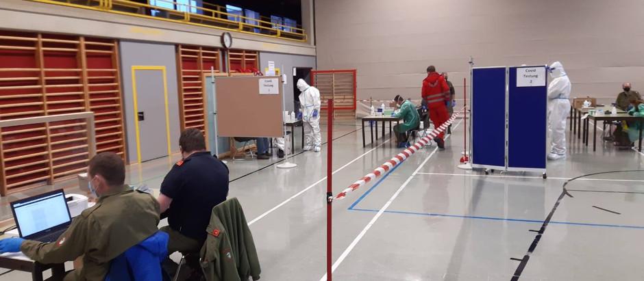 Tag 2 der freiwilligen Testungen - auch ohne Voranmeldung!