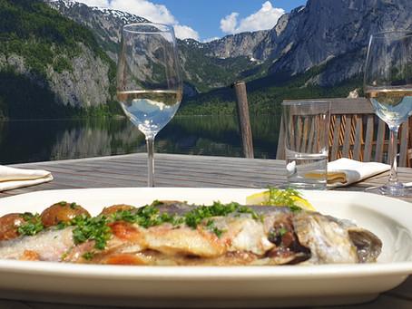 Fischgenuss am Altausseer See