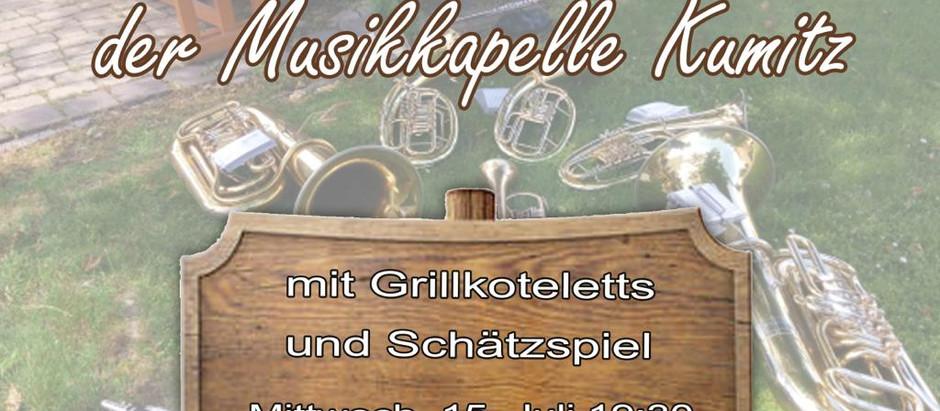 🎺 Sommerkonzert der Musikkapelle Kumitz