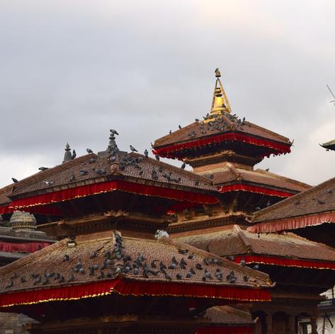 Kathmadou, la vieille ville. Royale