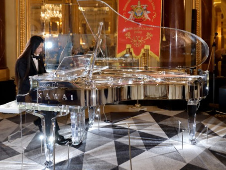 The Entwined Legacy of Kento Masuda and the Kawai Million Dollar Crystal Piano