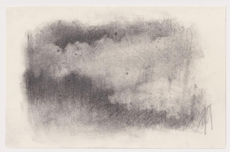Variations tempérées de vendredis - 20x14cm -crayon graphite sur papier