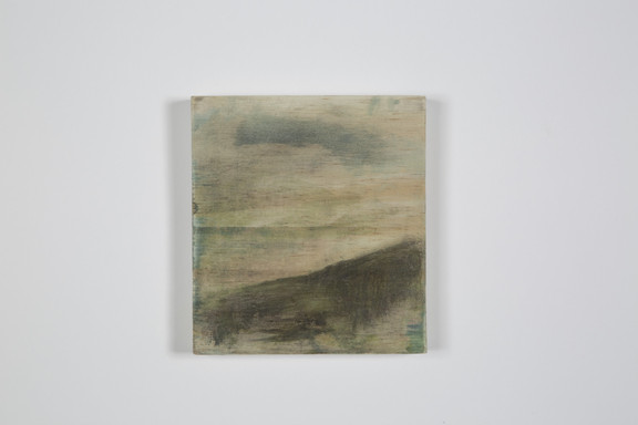 Firmament, crayons gras sur bois, 10x12.5x2cm, avril 2018