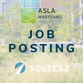 Job Posting: SOLTESZ Seeks Senior Landscape Architect