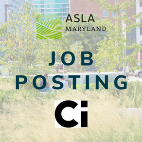 Job Posting: Ci Design Seeks Landscape Architect