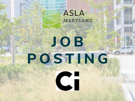 Job Posting: Ci Design Seeks Landscape Architect