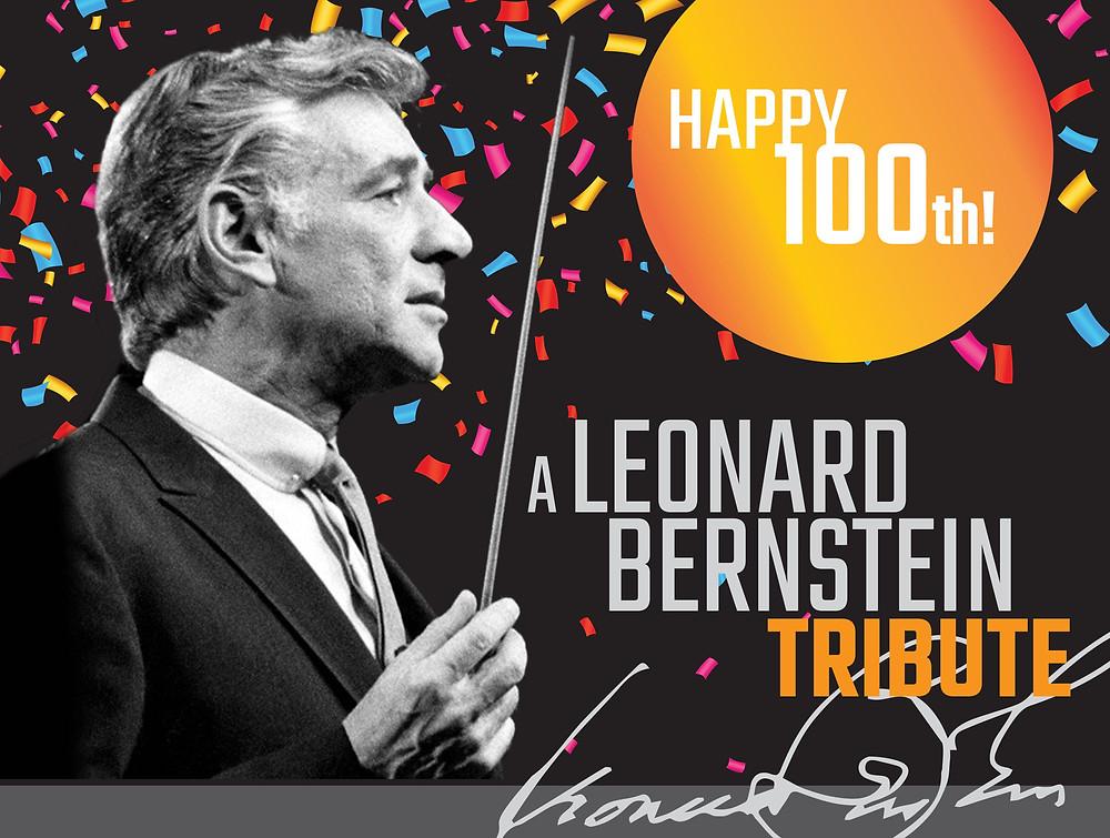 Leonard Bernstein Tribute Poster