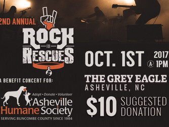 Rock For Rescues - Oct. 1