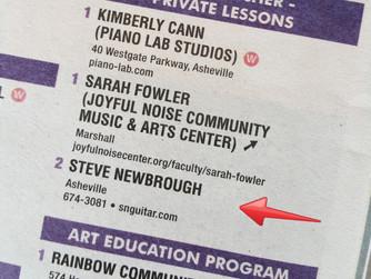 Steve Newbrough Named One Of Asheville's Best