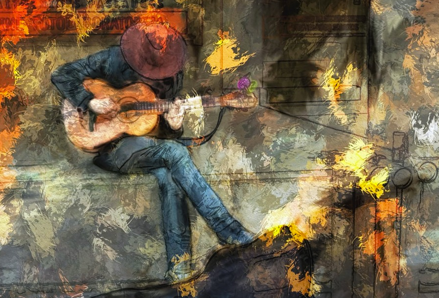 Guitarist with impressionistic flair