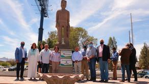 UUZI inaugura monumento al talento humano en memoria de Guillermo Aldrett