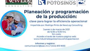 Capacitación de planeación y programación de la producción