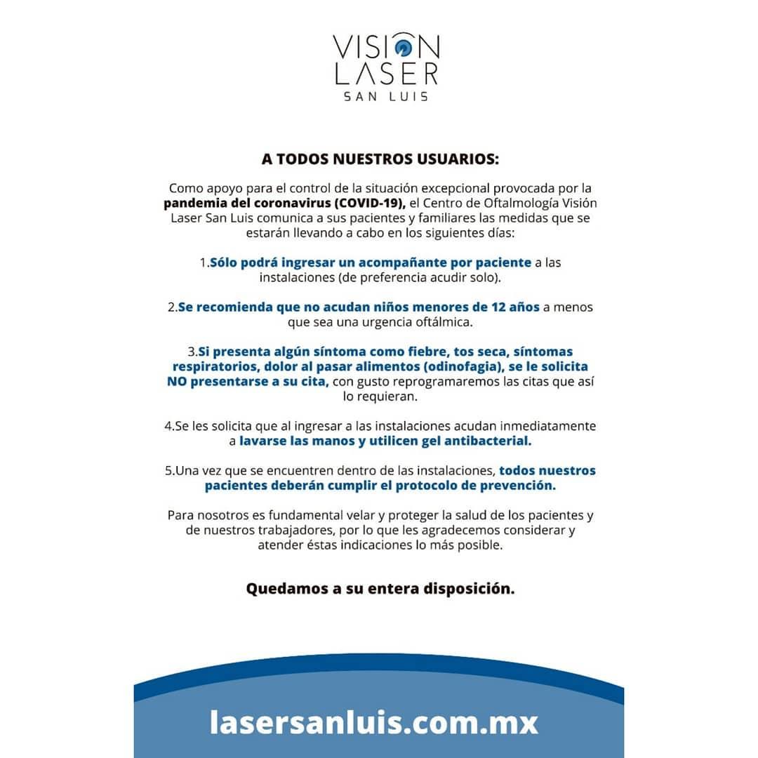 Vision Láser San Luis