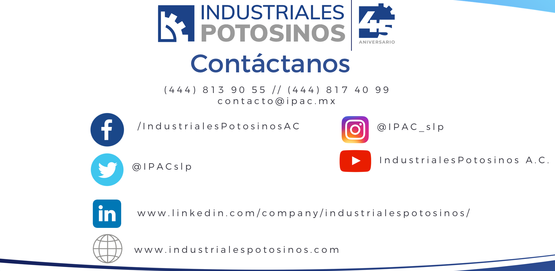 #SomosIndustrialesPotosinos