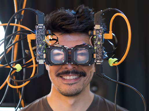 Display systems research: Reverse passthrough VR
