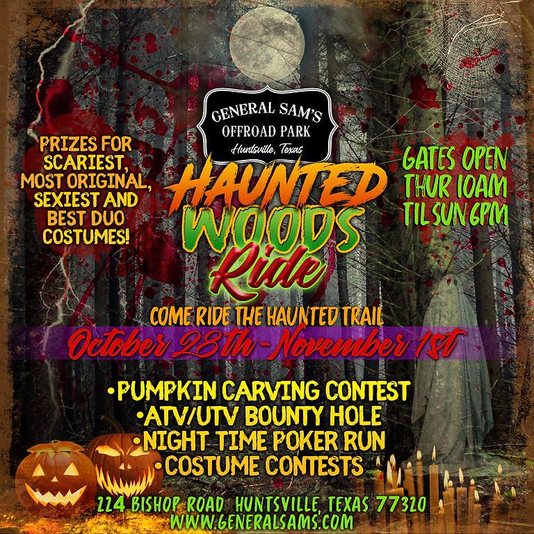 Haunted Woods Ride 2021