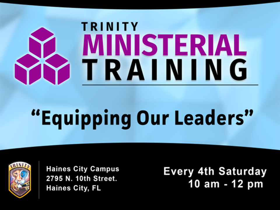 Ministerial Training