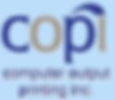 COPI-computer output printing inc - blue