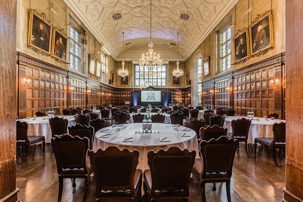 ITA Venues - Ironmongers' Hall - Banquet