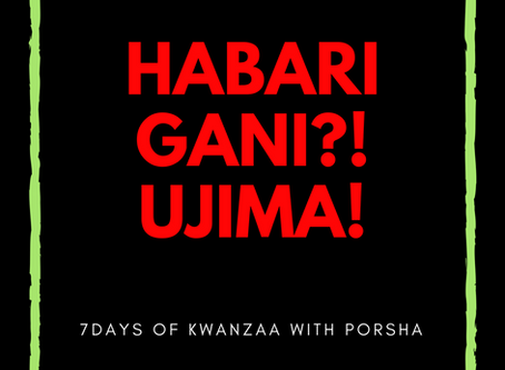 7 Days of Kwanzaa: Ujima