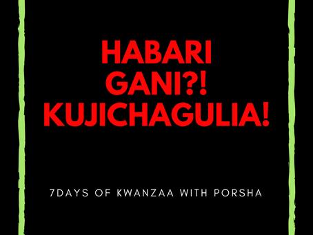 7 Days of Kwanzaa: Kujichagulia
