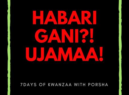 7 Days of Kwanzaa: Ujamaa