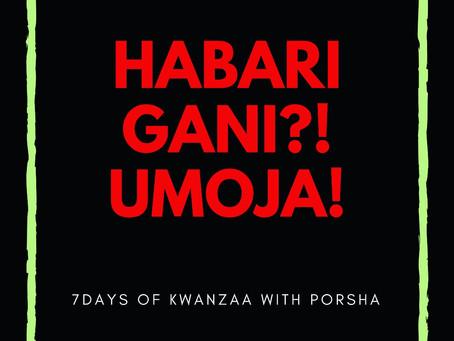7 Days of Kwanzaa: Umoja