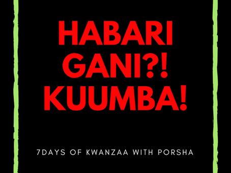 7 Days of Kwanzaa: Kuumba