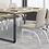 Thumbnail: 辦公會議桌-OT工業風口字腳會議桌(尺寸訂做、貼皮可選)