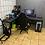Thumbnail: DIY角鋼電腦L型桌訂做,主桌W180D75H75側桌W90D45H75(尺寸可訂做)